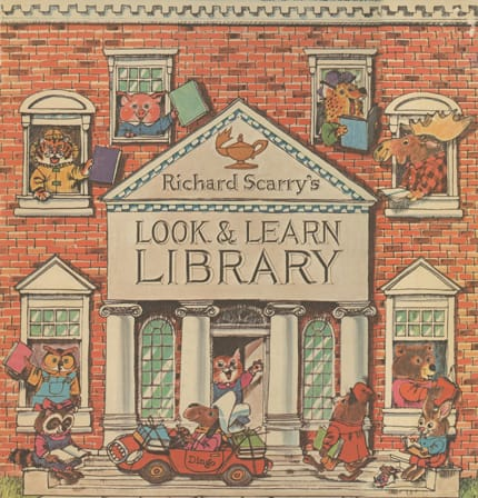 Richard Scarry's Look & Learn Library