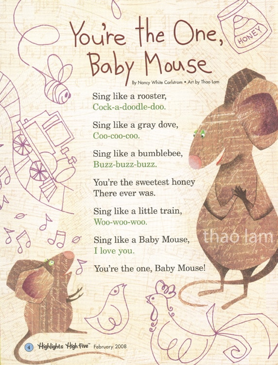 YouÕre the One Baby MouseYouÕre the One Baby Mouse